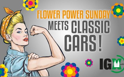 Flower Power Sunday meets Classic Cars