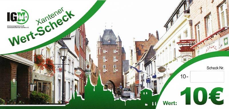 IGX Wertscheck 10 Euro