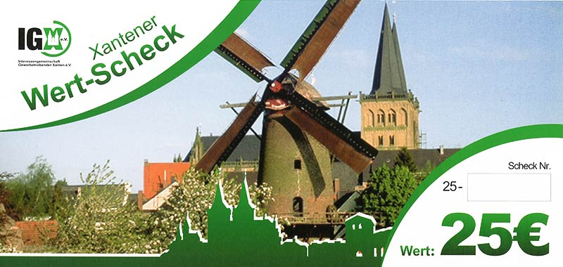 IGX Wertscheck 25 Euro