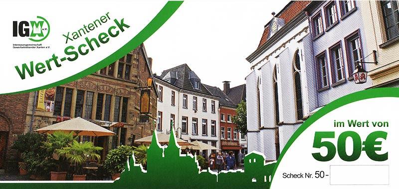 IGX Wertscheck 50 Euro