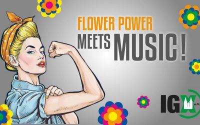 FLOWER POWER meets MUSIC!
