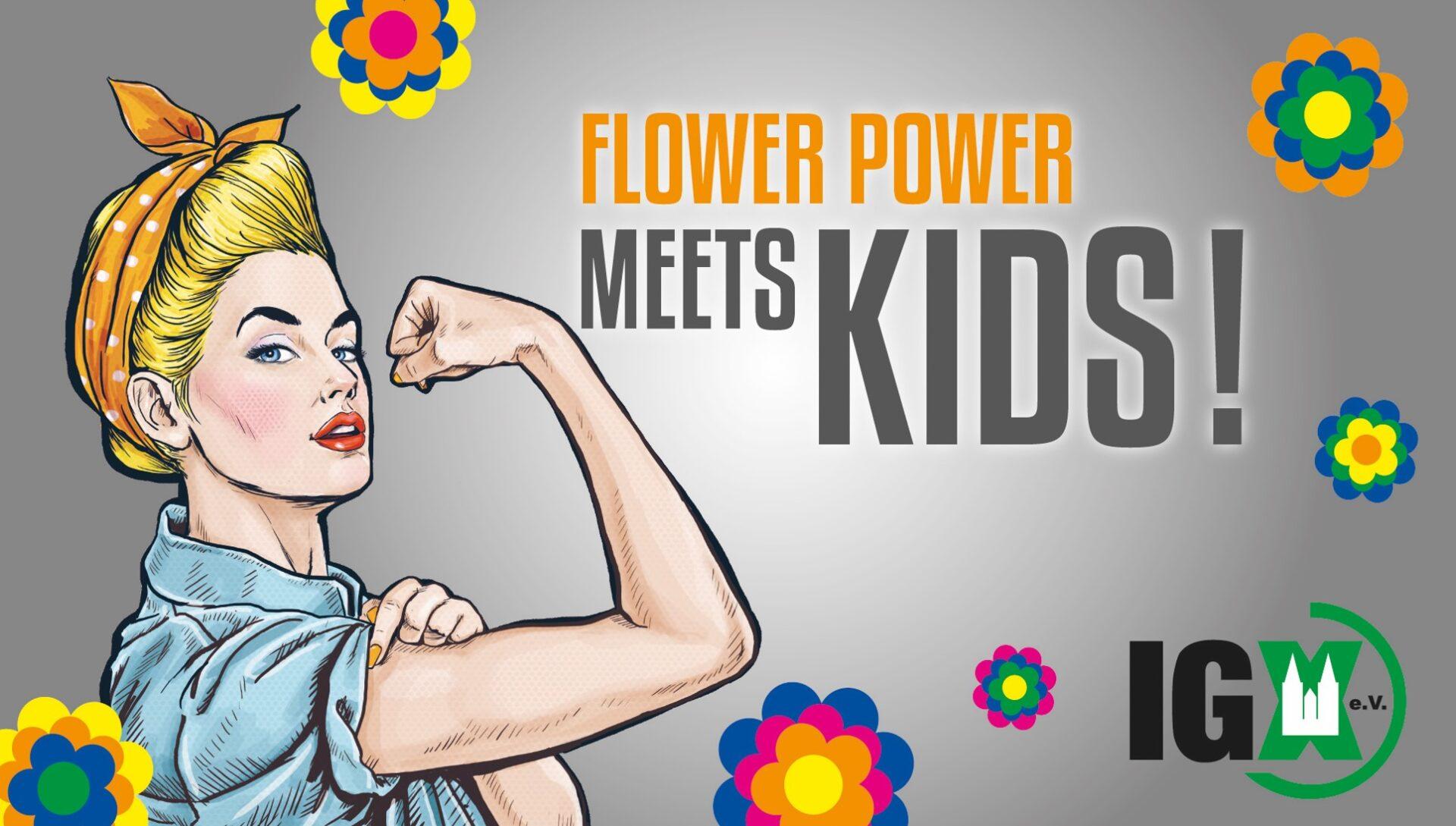 FLOWER POWER ...MEETS KIDS