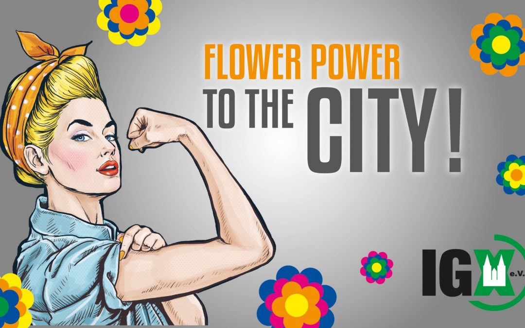 Flower Power to the City
